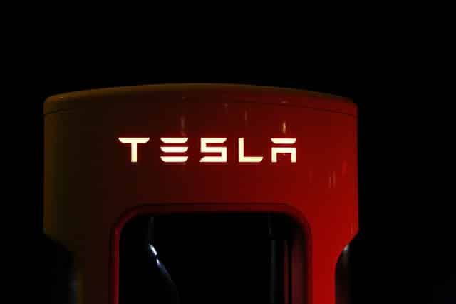 Tesla charging station trademark a name