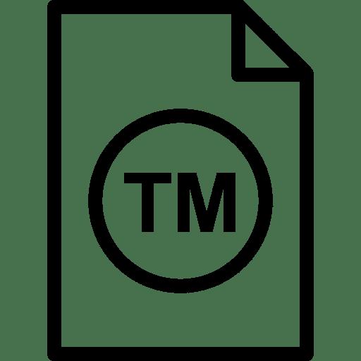 Unregistered trademark symbol