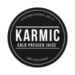 Karmic cold pressed juice trademark